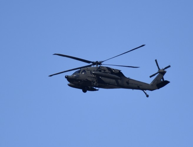Five crew missing after US Army helicopter crashes off Hawaii