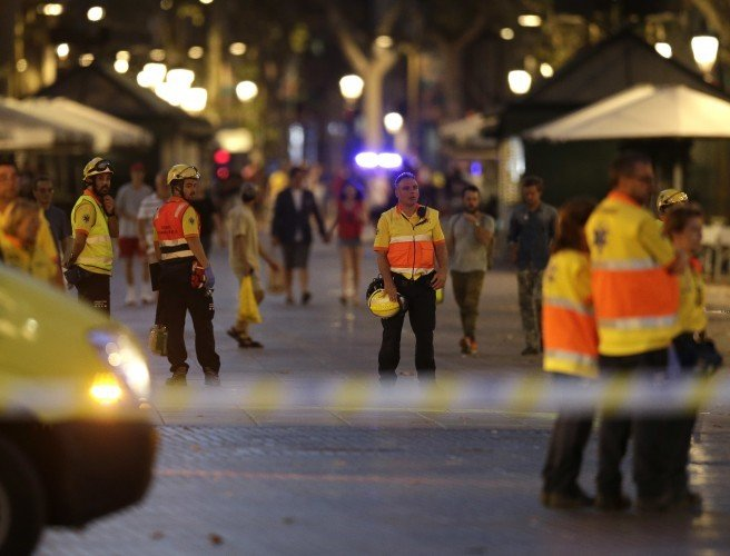 13 dead and dozens injured after van hits crowd in Barcelona