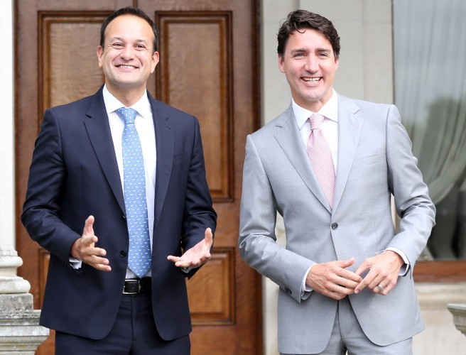 Canadian prime minister urged to discuss abortion with Varadkar