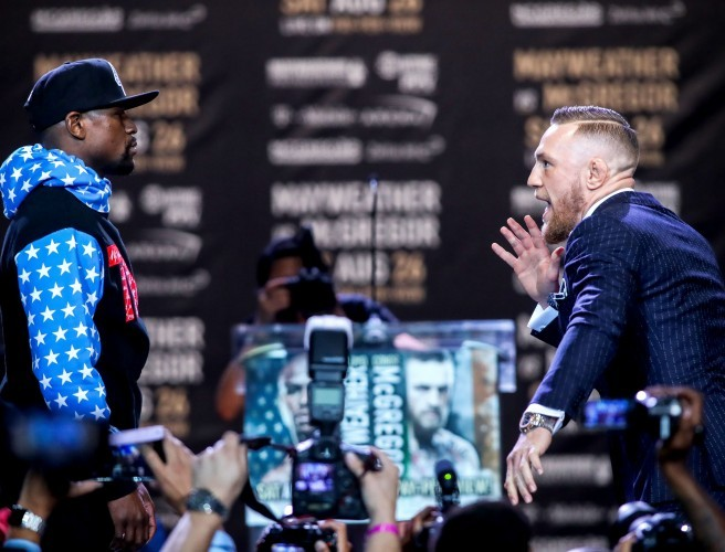 "Vincent Hogan on Mayweather-McGregor: ""There is the sense of a circus about this"""