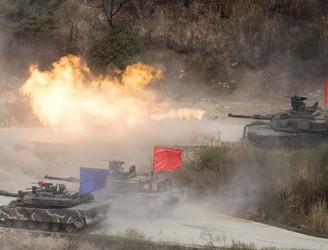 North Korea issues warning as US military drills with South Korea begin