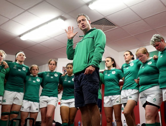 Tom Tierney, Ireland, Rugby World Cup
