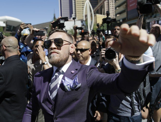Conor McGregor, Las Vegas, boxing