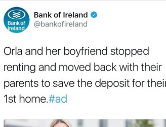 Bank sparks controversy with ad about young people moving in with parents
