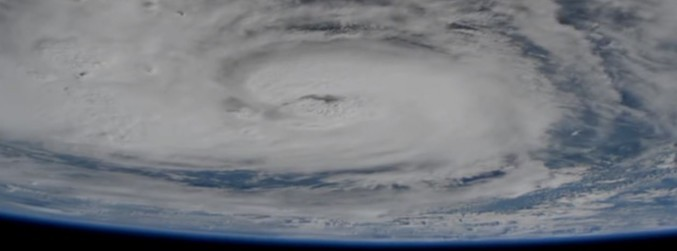 WATCH: NASA captures Hurricane Harvey from space