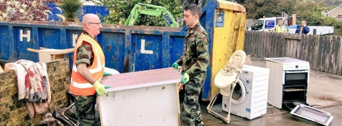 "Donegal clean-up operation ""very much underway"" - Varadkar"