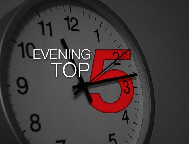 "Evening top 5: Texas flooding of ""epic proportions""; Man jailed over webcam blackmail of teen; Coveney calls for soft Brexit"