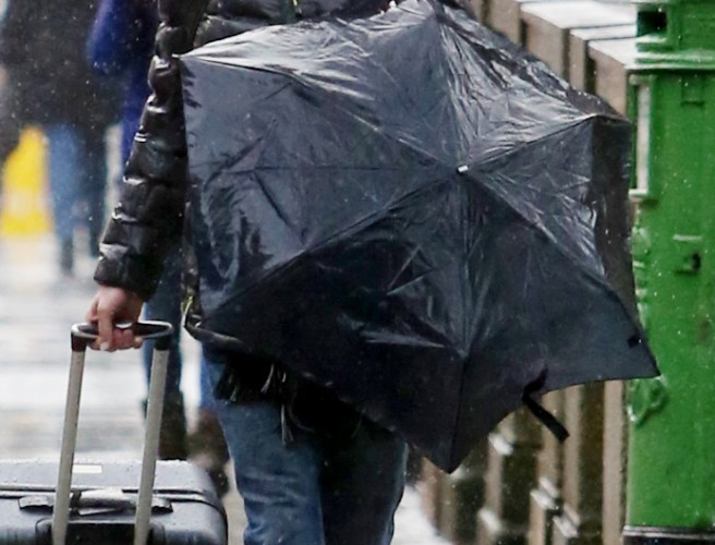 Friday's weather: Wind and rain warnings issued ahead of Storm Brian