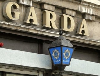 Man arrested following robbery at shop while two armed gardaí inside