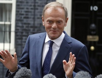 Tusk says UK's Brexit philosophy of 'having a cake and eating it' is coming to an end