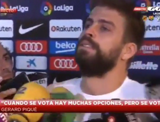 Tearful Gerard Pique threatens to quit Spanish team