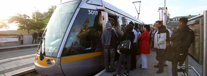 New texting service for Luas passengers to report anti-social behaviour