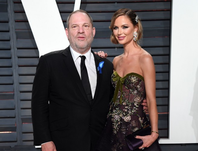 Weinstein's wife leaves him following rape allegations