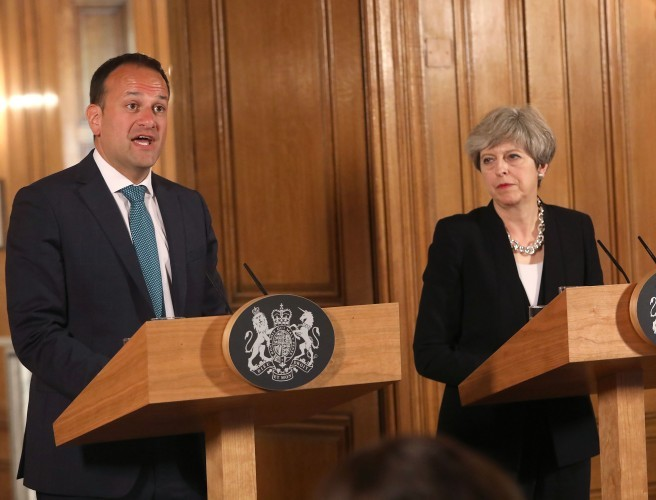 Britain 'ready to provide any support' to Ireland, PM says