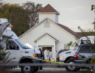 At least 26 people dead in Texas church mass shooting