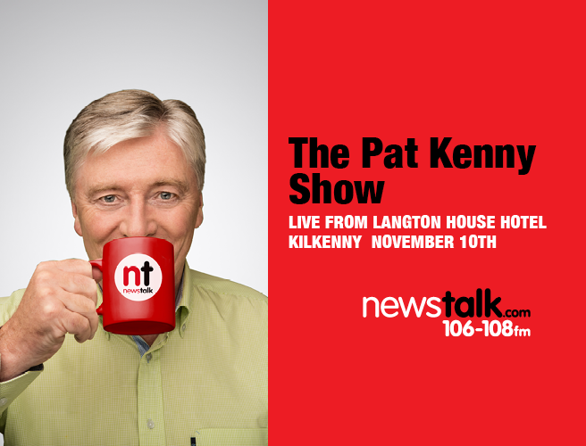The Pat Kenny Show Live from Langton House Hotel Kilkenny