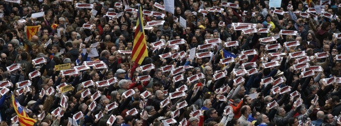 Catalonia crisis: Pro-independence demonstration to take place in Barcelona