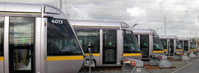 Project to upgrade Luas Green Line trams gets the green light