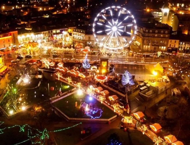 Around 20 people rescued from Galway Christmas Market big wheel