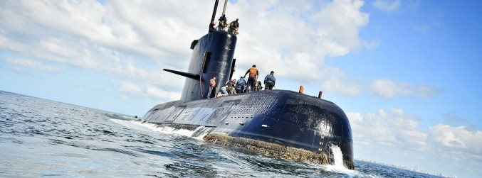 Distress calls detected from missing Argentinean submarine