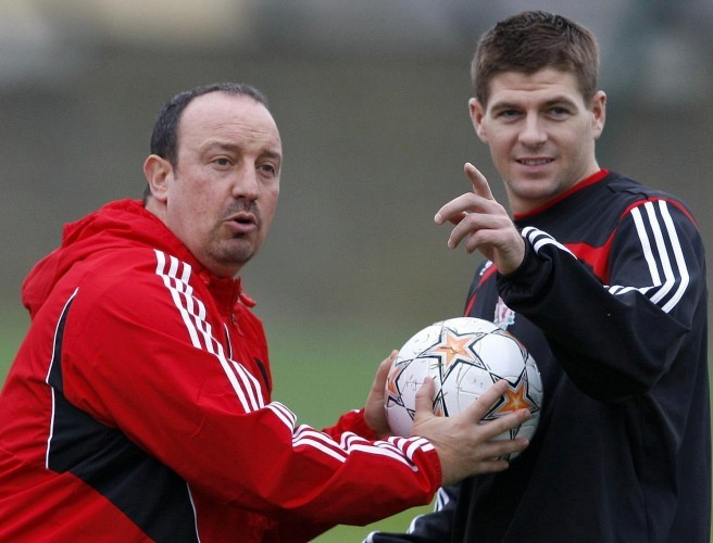 Rafa Benitez: Paul Pogba is not in the same league as Steven Gerrard