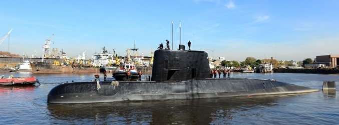 Search continues for missing Argentinian submarine after signals detected