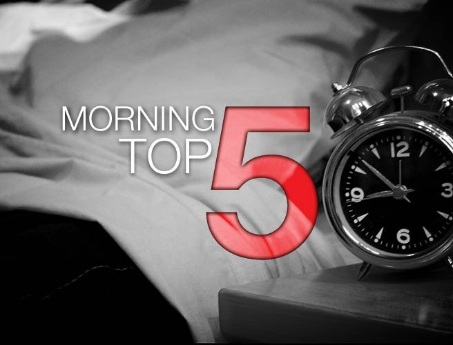 Morning top 5: Last-ditch efforts to avert general election; TV licence report to be published today