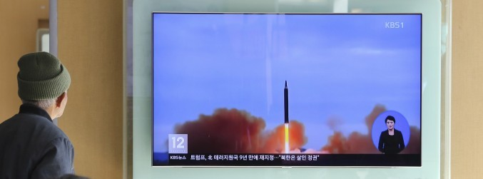 North Korea fires intercontinental ballistic missile