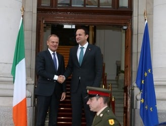 Europe will not accept any border proposal without Ireland's agreement