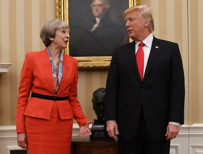 "Top diplomat insists Trump ""admires and respects"" British Prime Minister"
