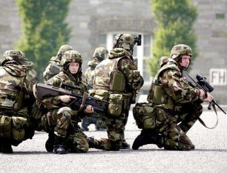 "Defence Forces set to conduct a ""major exercise"" in Dublin"