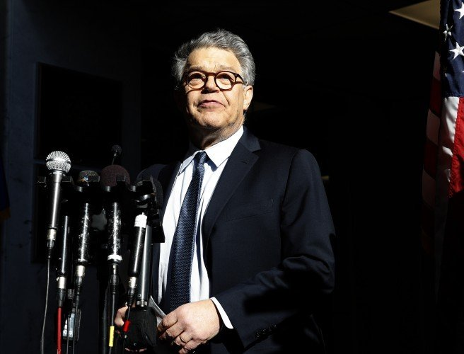 US Senator Al Franken to resign following sexual misconduct allegations