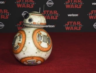 Stars and stormtroopers attend Star Wars premiere in LA