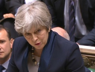 Theresa May suffers major defeat in House of Commons Brexit vote