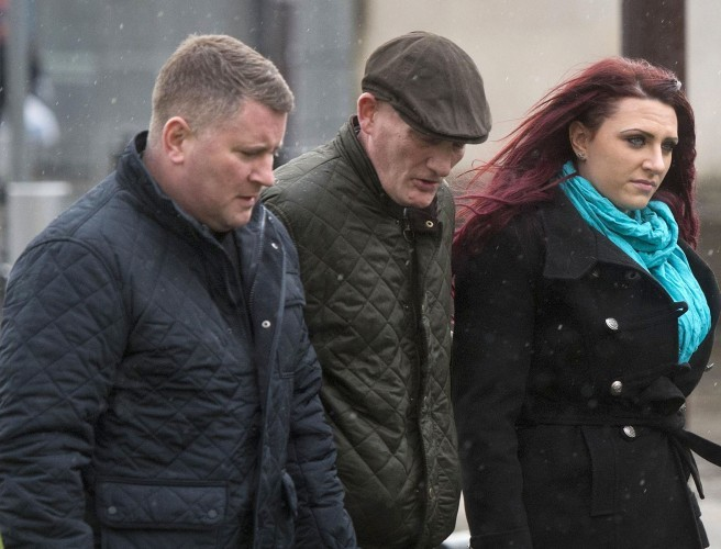 Britain First leader Paul Golding charged over Belfast rally speech