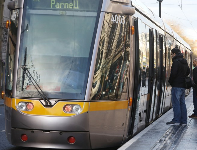 Luas trams being taken from Red Line for Green Line, minister confirms