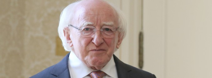 President Higgins signs Irish Sign Language bill into law