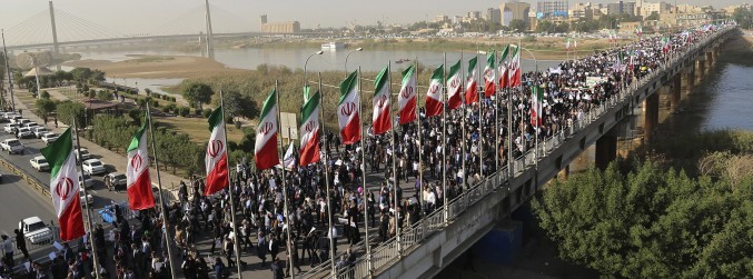 'Pro-government' protests take place in Iran after week of anti-regime demonstrations