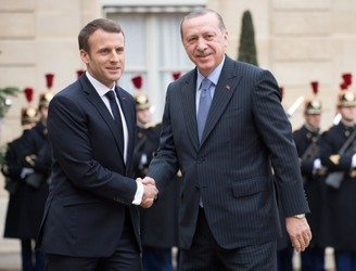 Macron says there is currently no chance of Turkey's EU bid progressing
