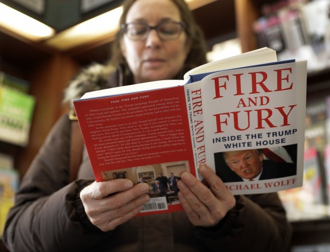 Tell-all Trump book hits the shelves