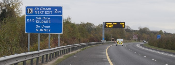 Commuters warned of major road works on the M7 until 2020