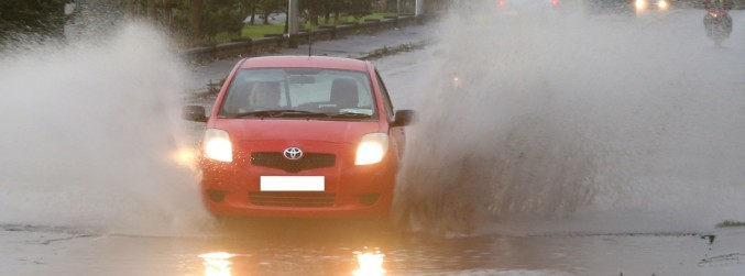 Three weather warnings issued for rain across 12 counties