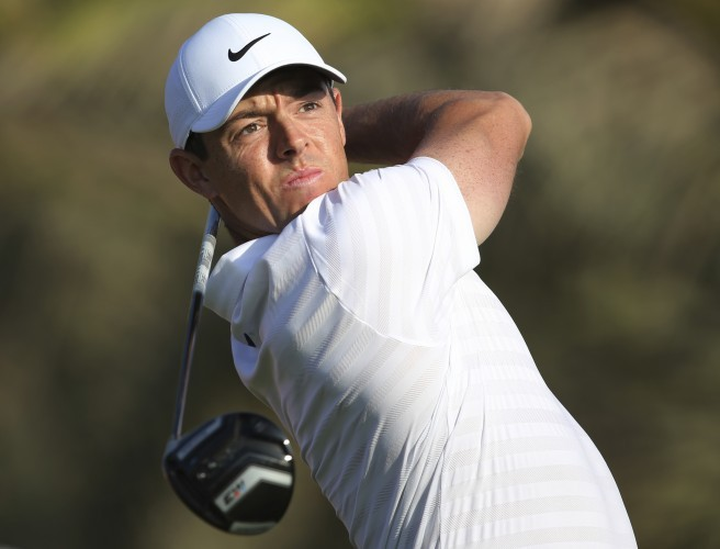 Rory McIlroy happy to be in the mix in Abu Dhabi