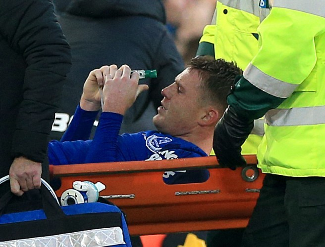 James McCarthy Suffers Double Leg Fracture