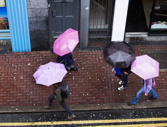 Saturday's weather: Scattered showers with risk of hail and thunder