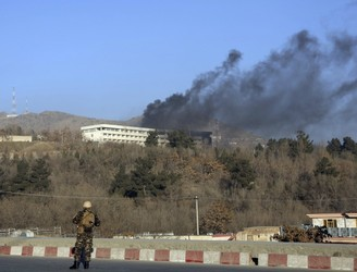 18 dead after gunmen attack luxury hotel in Afghan capital