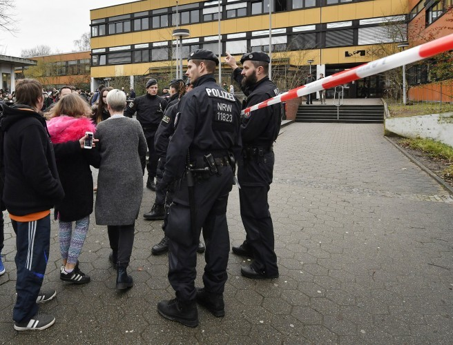 Boy, 15, arrested after 14-year-old pupil killed at German school