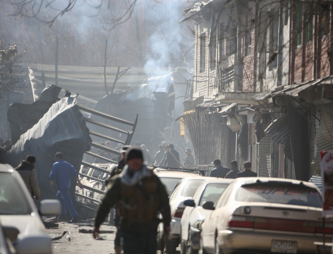 At least 95 dead following suicide bombing in Kabul