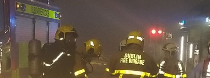 Apartment block evacuated in Tallaght after fire in underground car park