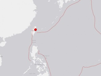 Three strong earthquakes hit the island of Taiwan